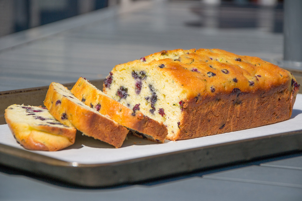 Blueberry-Zucchini-Loaf