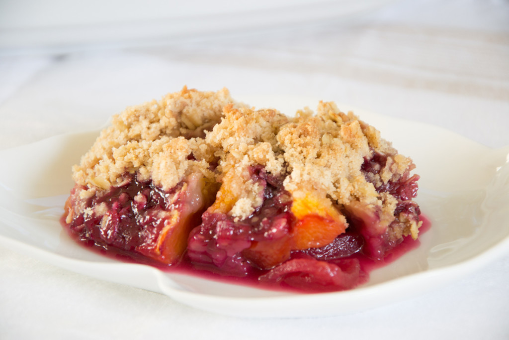 Fruit and Berry Crisp - Chateau Elma