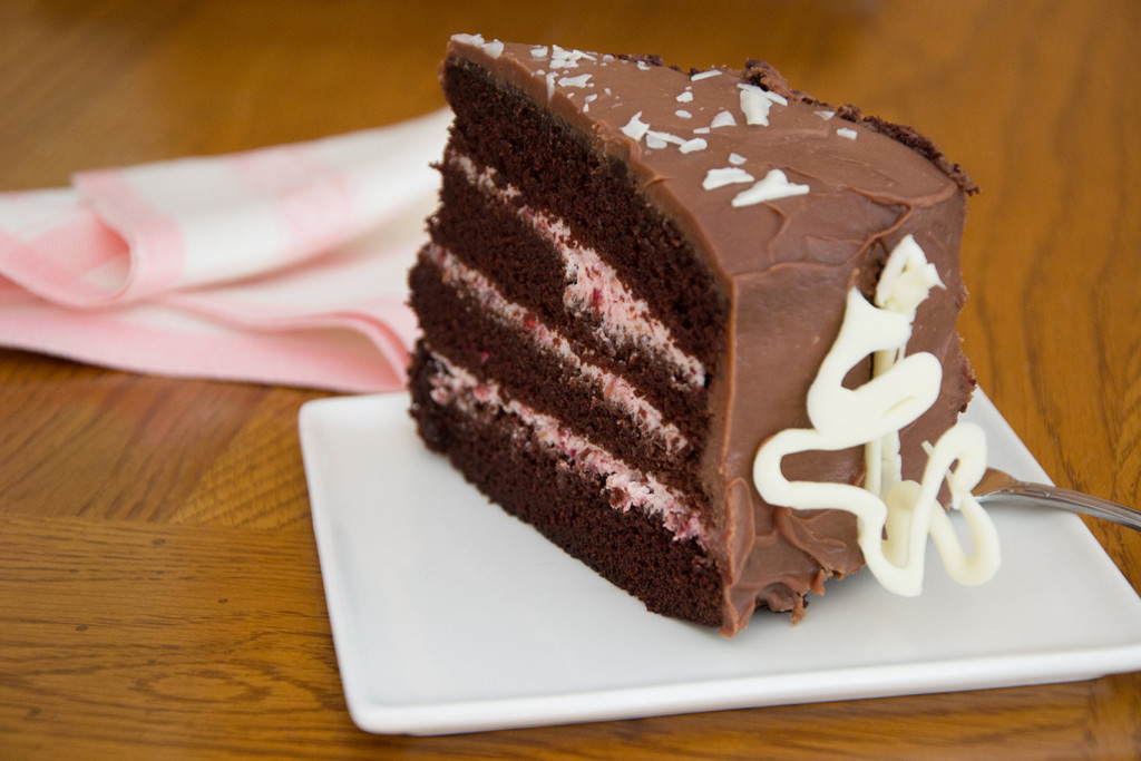 Chocolate-Raspberry-Torte