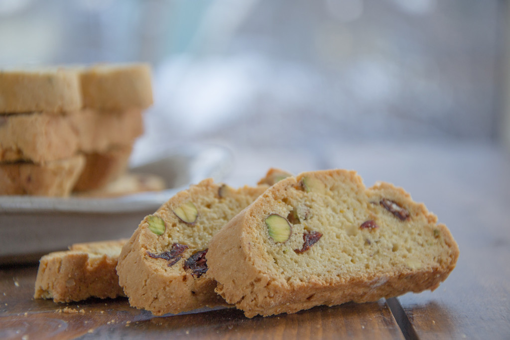 Holiday Biscotti With Cranberries And Pistachios Recipe ...