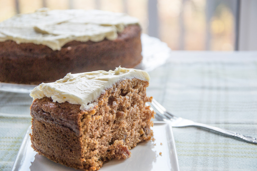 spice-cake-with-maple-frosting