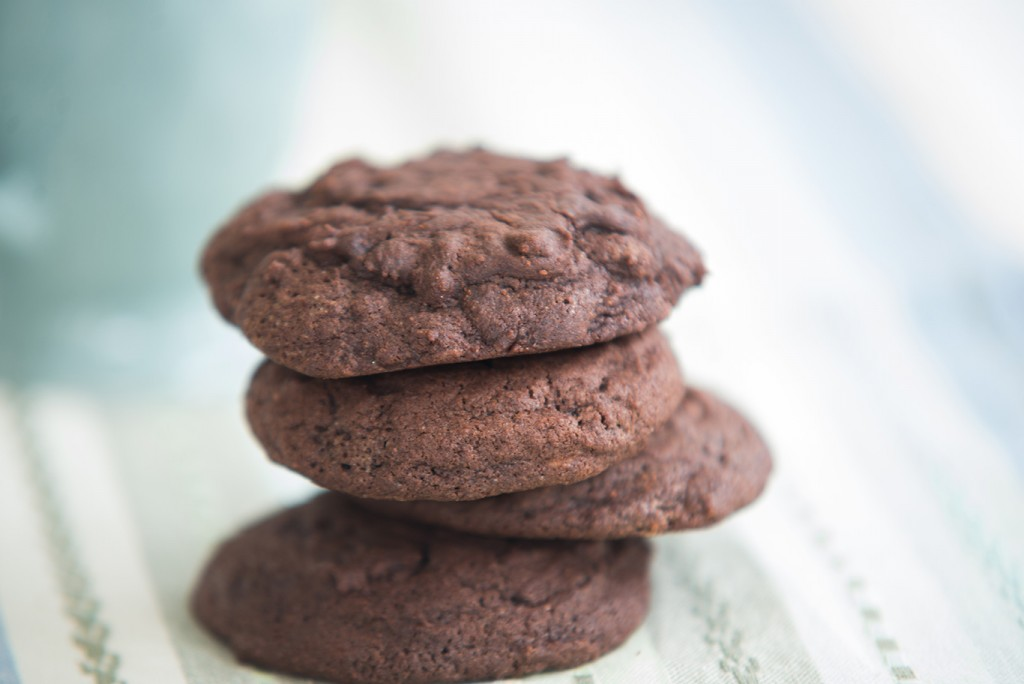 Very-Chocolate-Cookies