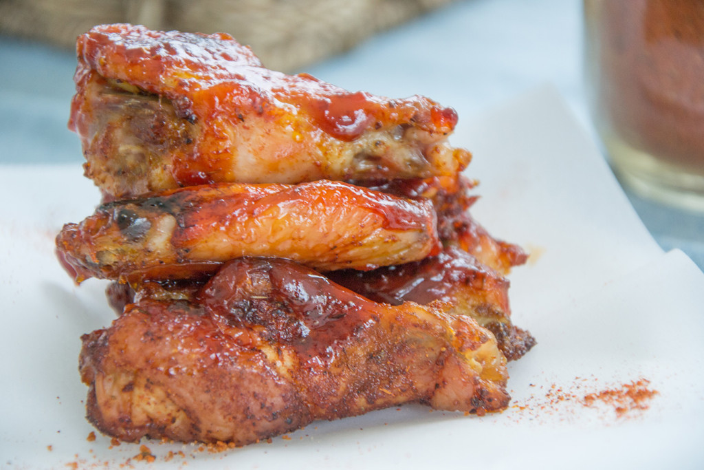 Baked-Sticky-Chicken-Wings
