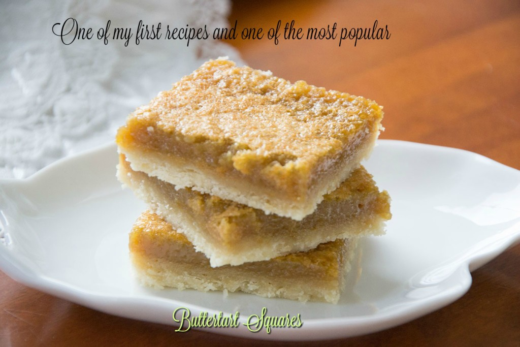 Buttertart Squares