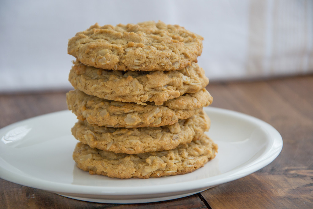 Oatmeal-Peanut-Butter-Cookies